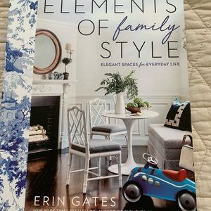 Elements of Family Style NEW decorating book